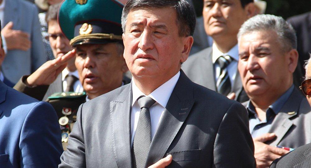 Асылбек Жээнбеков добровольно сложил ссебя полномочия спикера парламента Кыргызстана