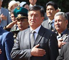 Первый заместитель руководителя Аппарата Президента КР Сооронбай Жээнбеков