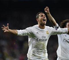 Мадриддин Реал командасынын чабуулчусу Криштиану Роналду. Архив