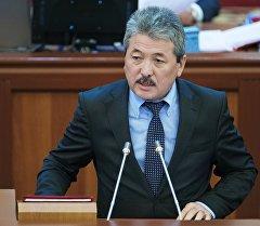 Кыргызстандын Финансы министри Адылбек Касымалиев. Архив