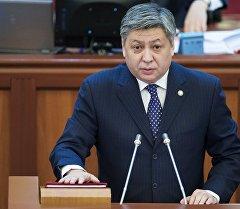 Кыргызстандын тышкы иштер министри Эрлан Абдылдаев. Архив