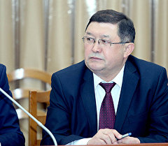 Транспорт жана коммуникация министри Айдаров Замирбек Казакбаевич. Архив