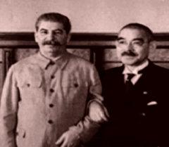 СССР и Япония подписывают пакт о нейтралитете. Съемки 1941 года