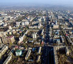 Бишкек шаарына көрүнүш. Архив