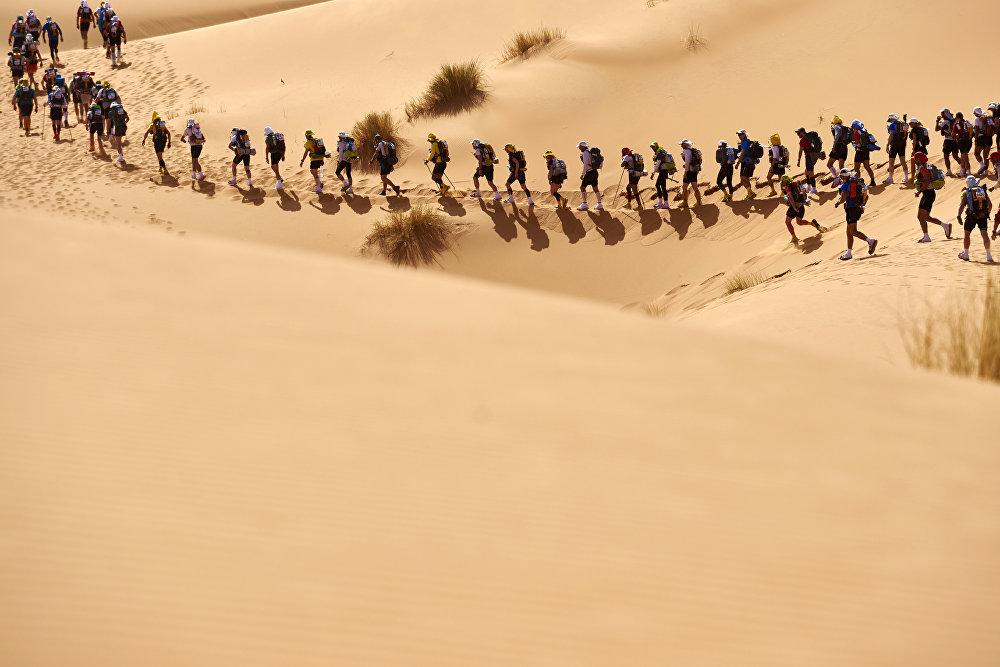 Песчаный марафон в Марокко