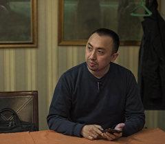 Эксперт ресторанного дела Евгений Тян во время интервью. Архивное фото