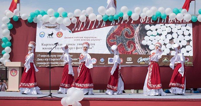 Для гостей были подготовлены спортивные мероприятия и устроен концерт.