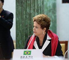 Бразилиянын президенти Дилма Роуссефф. Архив