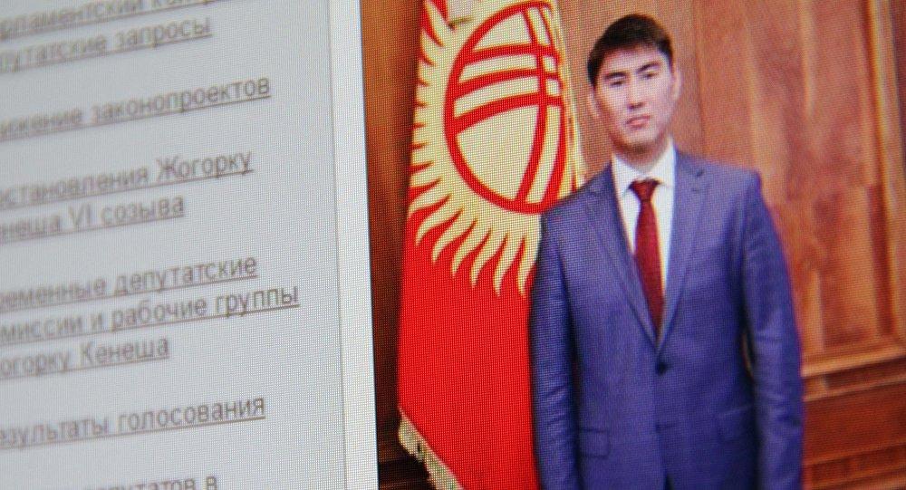 Снимок с официального сайта Жогорку Кенеша. Посол Кыргызстана в Японии Чингиз Айдарбеков. Архивное фото