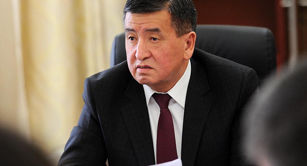 Премьер-министр Сооронбай Жээнбеков. Архив