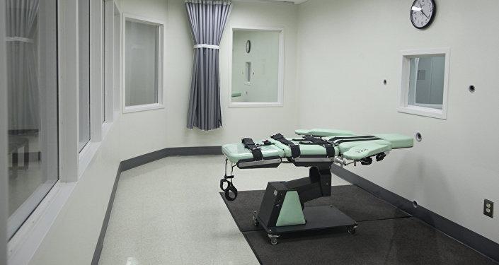 Комната для исполнения смертной казни инъекцией в США. Архивное фото