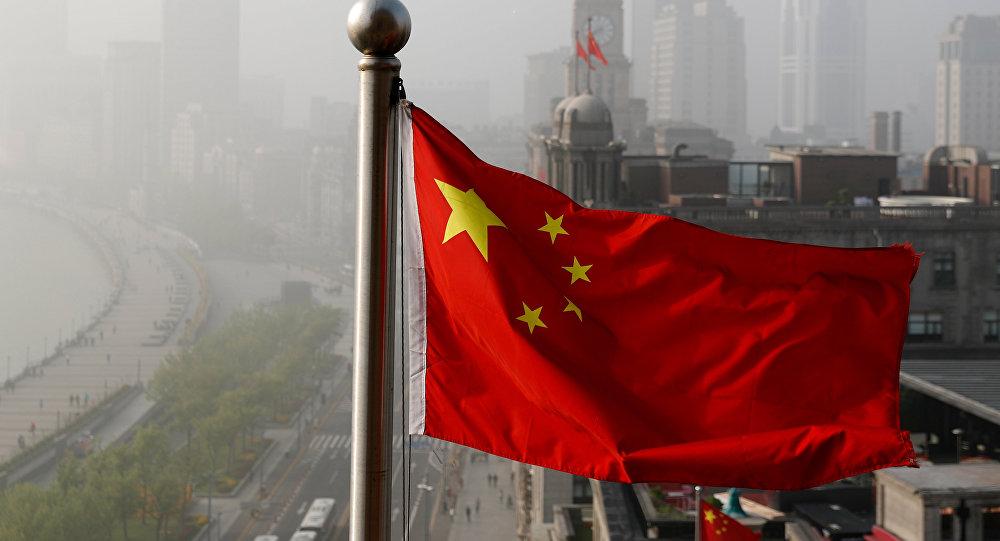 Государственный флаг Китая. Архивное фото