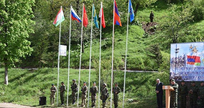 В Таджикистане стартовали совместные учения ОДКБ Поиск-2016