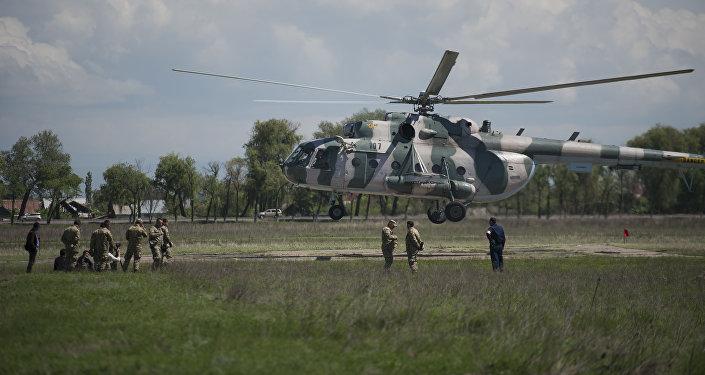 Вертолет Ми-8МТВ Генштаба КР. Архивное фото