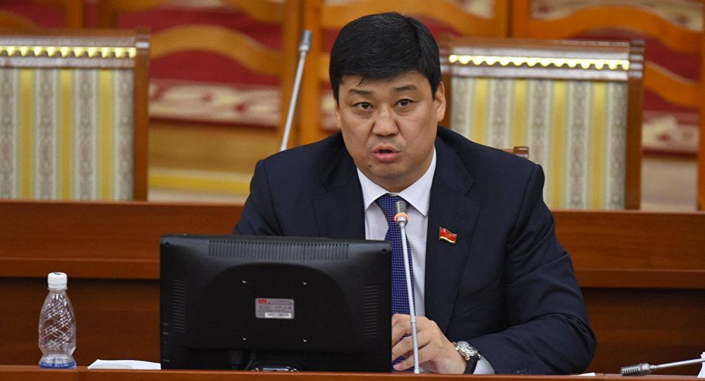ЖК депутаты Бакыт Төрөбаев. Архив