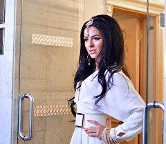 Российская певица Нюша. Архивное фото