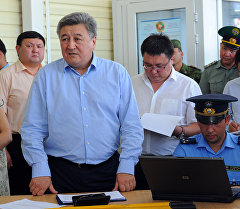 Адамкул Жунусов экс-председатель Государственной таможенной службы. Архивное фото