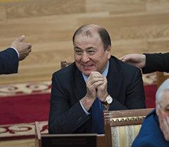 Мурдагы ички иштер министри Мелис Турганбаев. Архив