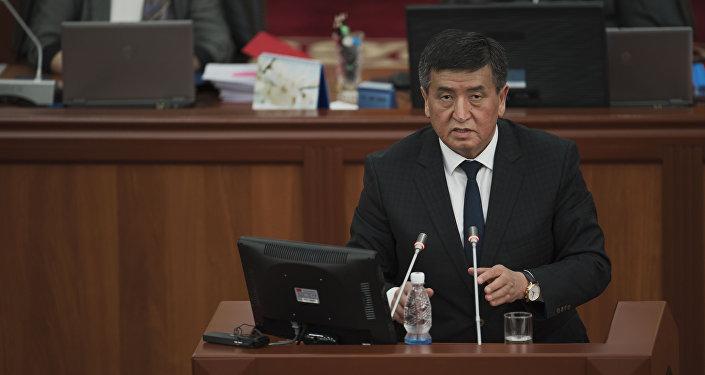 Первый заместитель руководителя Аппарата Президента КР Сооронбай Жээнбеков. Архивное фото