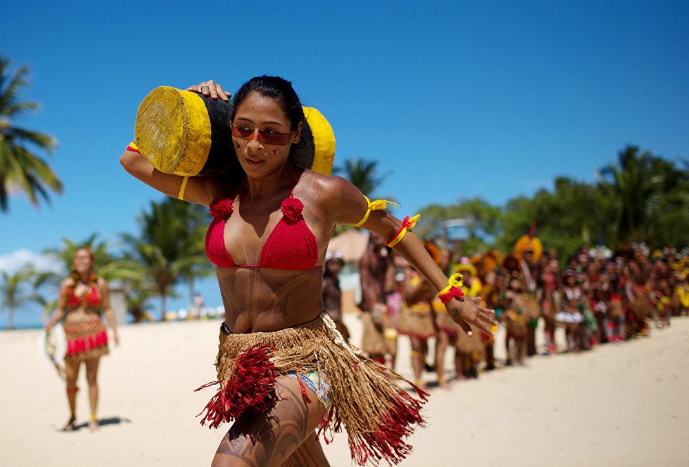 Всемирные игры аборигенов в Бразилии