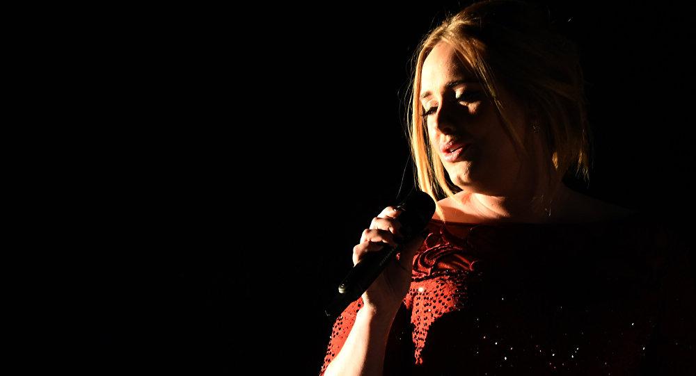 Известная британская певица Адель. Архивное фото