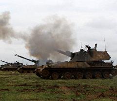 Последний довод. В Дагестане артиллеристы поразили сотню целей