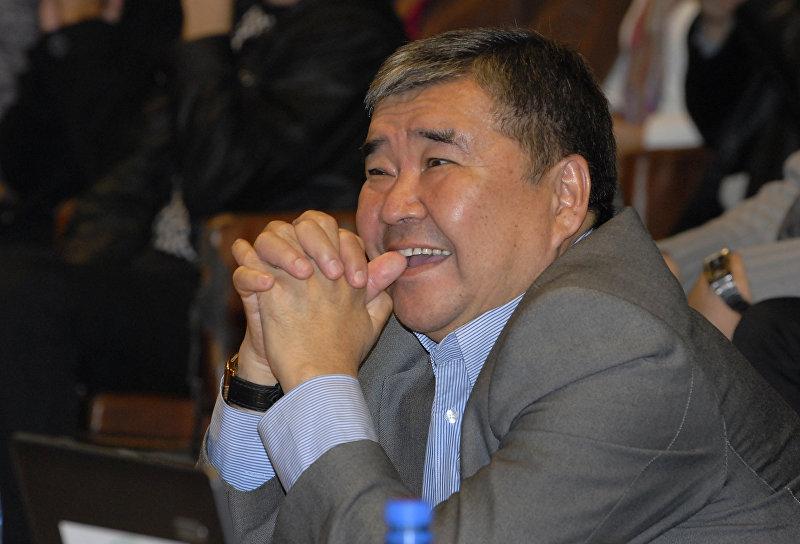 Президент ассоциации Дордой, экс-мэр Бишкека Аскар Салымбеков. Архивное фото