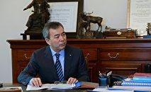 Архивное фото советника президента Кыргызстана Калыкбека Султанова
