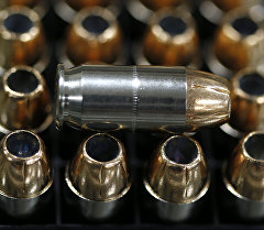 Коробка пистолетных патронов. Архивное фото. Архивное фото