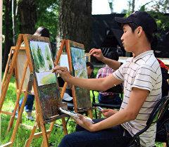 Бишкектеги Эмен сейил багынын аймагында Экология жана жарандардын ден соолугу аттуу фестиваль өткөрүлдү.