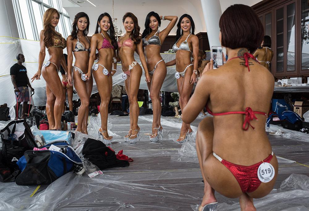 Открытый чемпионат по бодибилдингу в Сеуле