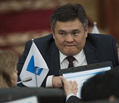 Депутат Марат Аманкулов. Архив