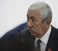 Депутат Исхак Масалиев. Архив