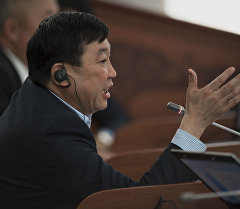 Депутат ЖК 6 созыва от партии СДПК Бахадыр Сулейманов. Архивное фото