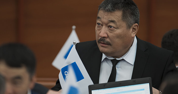 Депутат VI созыва ЖК Мухтарбек Айнакулов