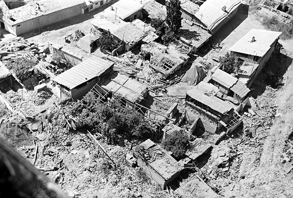 Землетрясение в Ташкенте, произошедшее 26 апреля 1966 года