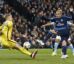 Полуфинальные матчи Лиги чемпионов — Манчестер сити против Реал Мадрида