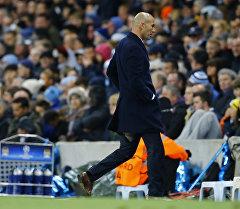 Тренер ФК Реал Мадрид Зинедин Зидан