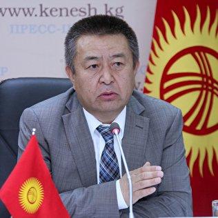 Депутат Чыныбай Турсунбеков