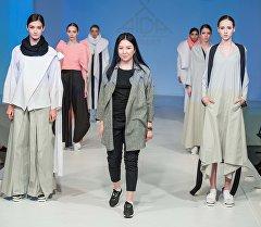 Кыргызстандык Аида Робертова Надежда Ламанова атындагы жаш профессионал модельерлердин сынагында