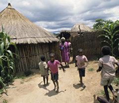 Африкалык балдар, Зимбабве. Архив