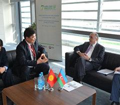 КР маданият министри Бакуда Азербайжандын ТИМ башчысы менен жолукту