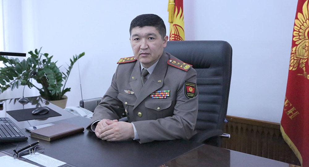 Начальник Генерального штаба Вооруженных сил Кыргызстана Жаныбек Капаров. Архивное фото
