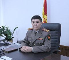 Коопсуздук кеңешинин катчысынын мурунку биринчи орун басары Жаныбек Капаров. Архив