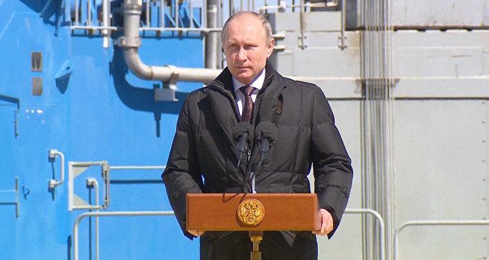 СПУТНИК_Сделано все качественно – Путин о первом пуске ракеты-носителя с Восточный