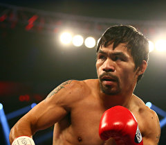 Филиппинский боксер Мэнни Пакьяо. Архивное фото