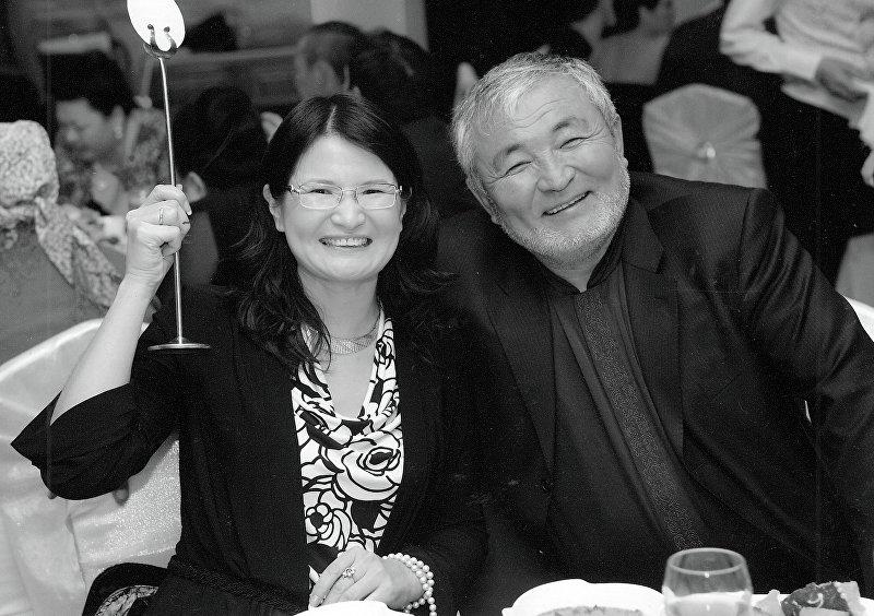 Основатель компании Шоро Табылды Эгембердиев с супругой