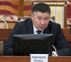 Депутат Канатбек Исаевдин архивдик сүрөтү