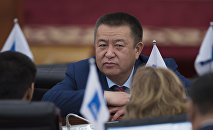 Жогорку Кеңештин депутаты Чыныбай Турсунбеков. Архив