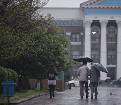 Бишкек шаарынын тургундары. Архив